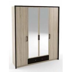 Шкаф 4-х дверный СКАРЛЕТ