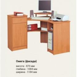 Компьютерный стол ОМЕГА (фасады)