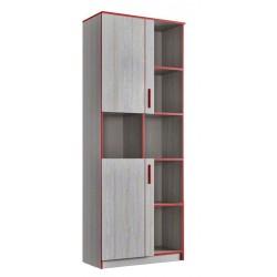 Шкаф книжный 2Д (800) (детская Рио)