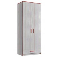 Шкаф платяной 2Д/1Ш (800) (детская Рио)
