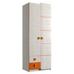Шкаф платяной 2Д/2Ш (800) (детская Санта)