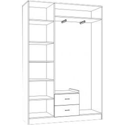 Шкаф 600 (спальня Катрин)